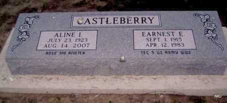 CASTLEBERRY, ALINE I. - Lawrence County, Arkansas | ALINE I. CASTLEBERRY - Arkansas Gravestone Photos