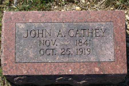 CATHEY (VETERAN CSA), JOHN A. - Lawrence County, Arkansas   JOHN A. CATHEY (VETERAN CSA) - Arkansas Gravestone Photos