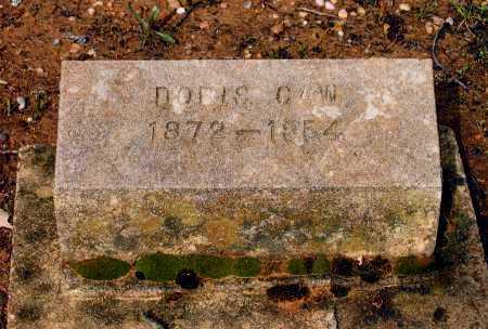 "CAW, DORSEY ELWOOD ""DORIS"" - Lawrence County, Arkansas | DORSEY ELWOOD ""DORIS"" CAW - Arkansas Gravestone Photos"