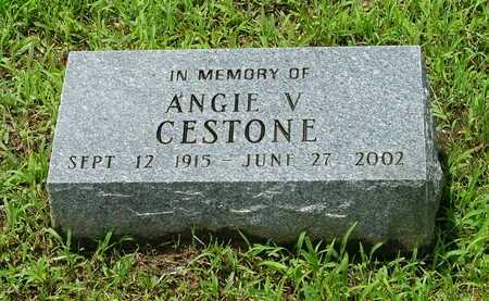 CESTONE, ANGIE VIRGINIA - Lawrence County, Arkansas | ANGIE VIRGINIA CESTONE - Arkansas Gravestone Photos