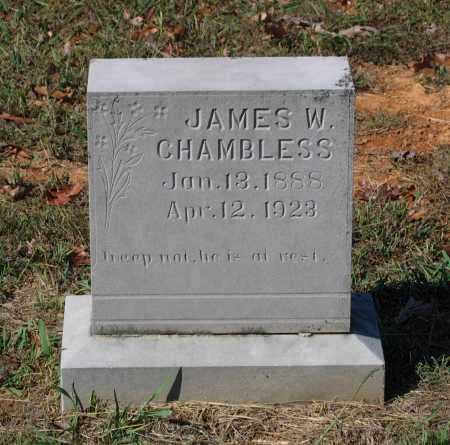 CHAMBLESS, JAMES W. - Lawrence County, Arkansas   JAMES W. CHAMBLESS - Arkansas Gravestone Photos