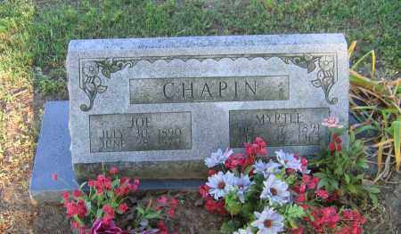 CHAPIN, MYRTLE - Lawrence County, Arkansas | MYRTLE CHAPIN - Arkansas Gravestone Photos