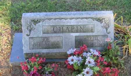 CHAPIN, JOE - Lawrence County, Arkansas | JOE CHAPIN - Arkansas Gravestone Photos