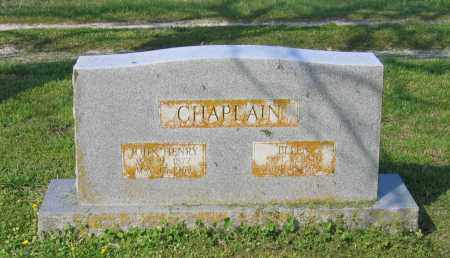 CHAPLAIN, JOHN HENRY - Lawrence County, Arkansas | JOHN HENRY CHAPLAIN - Arkansas Gravestone Photos