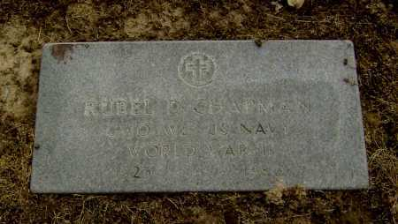 CHAPMAN  (VETERAN WWII), RUBEL D - Lawrence County, Arkansas   RUBEL D CHAPMAN  (VETERAN WWII) - Arkansas Gravestone Photos