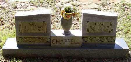 CHAPPELL, BESSIE - Lawrence County, Arkansas | BESSIE CHAPPELL - Arkansas Gravestone Photos