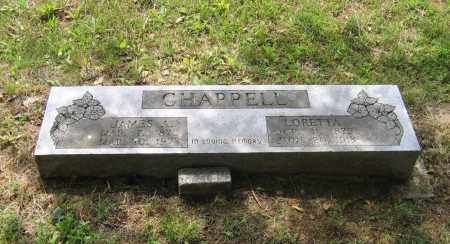 CHAPPELL, JAMES ANDREW - Lawrence County, Arkansas | JAMES ANDREW CHAPPELL - Arkansas Gravestone Photos