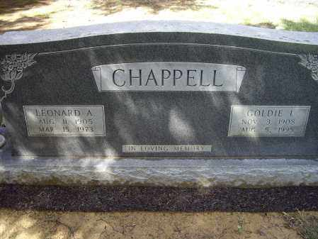 CHAPPELL, GOLDIE I. - Lawrence County, Arkansas | GOLDIE I. CHAPPELL - Arkansas Gravestone Photos