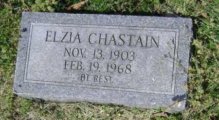 CHASTAIN, ELZIA - Lawrence County, Arkansas | ELZIA CHASTAIN - Arkansas Gravestone Photos