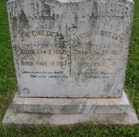 CHILDERS, JAMES SIMON - Lawrence County, Arkansas | JAMES SIMON CHILDERS - Arkansas Gravestone Photos