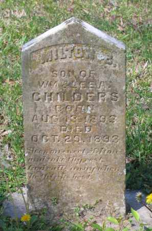 CHILDERS, MILTON B. - Lawrence County, Arkansas   MILTON B. CHILDERS - Arkansas Gravestone Photos