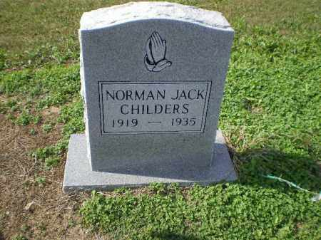 CHILDERS, NORMAN JACK - Lawrence County, Arkansas | NORMAN JACK CHILDERS - Arkansas Gravestone Photos