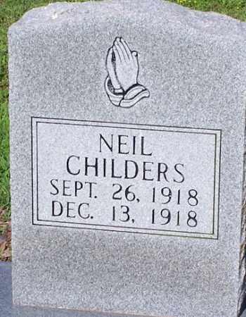 CHILDERS, NEIL - Lawrence County, Arkansas | NEIL CHILDERS - Arkansas Gravestone Photos