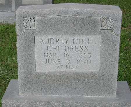 ERWIN CHILDRESS, AUDREY ETHEL - Lawrence County, Arkansas | AUDREY ETHEL ERWIN CHILDRESS - Arkansas Gravestone Photos