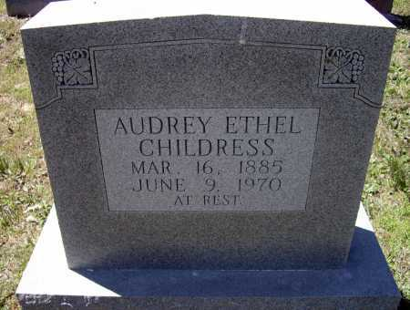 CHILDRESS, AUDREY ETHEL - Lawrence County, Arkansas   AUDREY ETHEL CHILDRESS - Arkansas Gravestone Photos