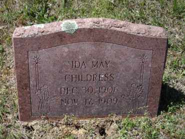 CHILDRESS, IDA MAY - Lawrence County, Arkansas   IDA MAY CHILDRESS - Arkansas Gravestone Photos