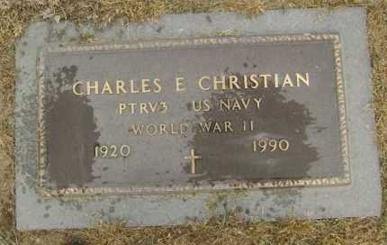 CHRISTIAN  (VETERAN WWII), CHARLES E. - Lawrence County, Arkansas | CHARLES E. CHRISTIAN  (VETERAN WWII) - Arkansas Gravestone Photos