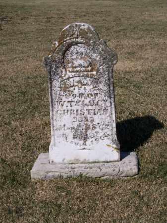 CHRISTIAN, J. W. - Lawrence County, Arkansas | J. W. CHRISTIAN - Arkansas Gravestone Photos