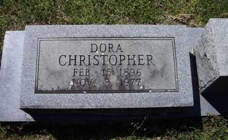 CHRISTOPHER, DORA BELLE - Lawrence County, Arkansas | DORA BELLE CHRISTOPHER - Arkansas Gravestone Photos