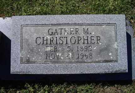 """CHRISTOPHER, GAITHER MARVIN """"GATHER"""" - Lawrence County, Arkansas   GAITHER MARVIN """"GATHER"""" CHRISTOPHER - Arkansas Gravestone Photos"""
