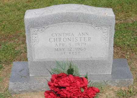 "CHRONISTER, CYNTHIA ANGELIN ""ANN"" - Lawrence County, Arkansas 