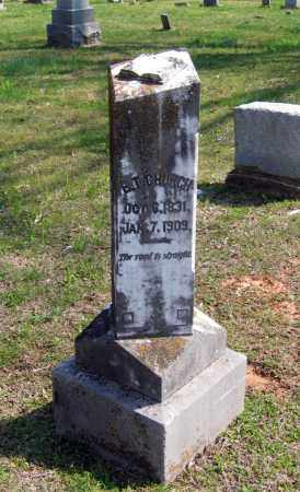 CHURCH (VETERAN CSA), EZEKIAL THOMPSON - Lawrence County, Arkansas | EZEKIAL THOMPSON CHURCH (VETERAN CSA) - Arkansas Gravestone Photos