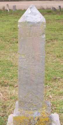 CLARK, ALEXANDER - Lawrence County, Arkansas   ALEXANDER CLARK - Arkansas Gravestone Photos