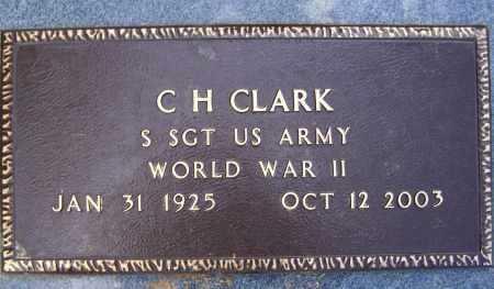 CLARK, JR. (VETERAN WWII), CHARLES HENRY - Lawrence County, Arkansas | CHARLES HENRY CLARK, JR. (VETERAN WWII) - Arkansas Gravestone Photos
