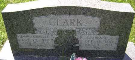 CLARK, CLARENCE A. - Lawrence County, Arkansas   CLARENCE A. CLARK - Arkansas Gravestone Photos