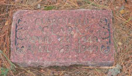 CLARK, CLARENCE D. - Lawrence County, Arkansas | CLARENCE D. CLARK - Arkansas Gravestone Photos