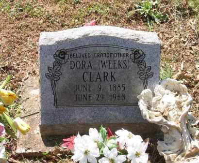 CLARK, DORA - Lawrence County, Arkansas | DORA CLARK - Arkansas Gravestone Photos