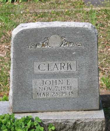 CLARK, JOHN EDWARD - Lawrence County, Arkansas   JOHN EDWARD CLARK - Arkansas Gravestone Photos