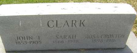 CLARK, SARAH - Lawrence County, Arkansas | SARAH CLARK - Arkansas Gravestone Photos