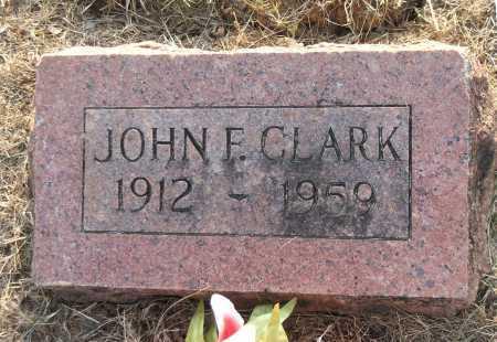 CLARK, JOHN F. - Lawrence County, Arkansas | JOHN F. CLARK - Arkansas Gravestone Photos