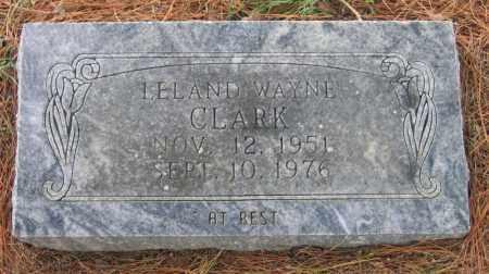 CLARK, LELAND WAYNE - Lawrence County, Arkansas | LELAND WAYNE CLARK - Arkansas Gravestone Photos