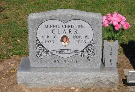 CLARK, MINNIE CHRISTINE - Lawrence County, Arkansas | MINNIE CHRISTINE CLARK - Arkansas Gravestone Photos
