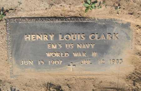 CLARK (VETERAN WWII), HENRY LOUIS - Lawrence County, Arkansas | HENRY LOUIS CLARK (VETERAN WWII) - Arkansas Gravestone Photos