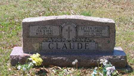 REED CLAUDE, LETTA - Lawrence County, Arkansas | LETTA REED CLAUDE - Arkansas Gravestone Photos