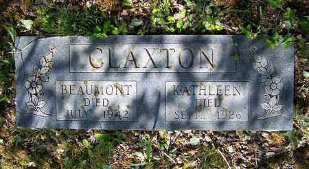 CLAXTON, BEAUMONT - Lawrence County, Arkansas   BEAUMONT CLAXTON - Arkansas Gravestone Photos