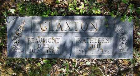 CLAXTON, BEAUMONT - Lawrence County, Arkansas | BEAUMONT CLAXTON - Arkansas Gravestone Photos