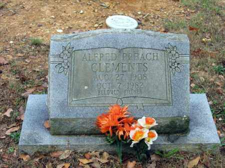 """CLEMENTS, ALFRED """"PREACH"""" - Lawrence County, Arkansas   ALFRED """"PREACH"""" CLEMENTS - Arkansas Gravestone Photos"""