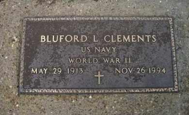 CLEMENTS (VETERAN WWII), BLUFORD LESLIE - Lawrence County, Arkansas   BLUFORD LESLIE CLEMENTS (VETERAN WWII) - Arkansas Gravestone Photos