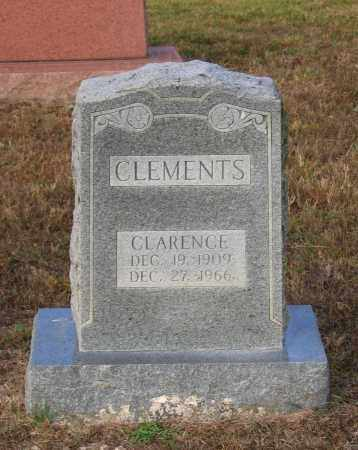 CLEMENTS, CLARENCE - Lawrence County, Arkansas   CLARENCE CLEMENTS - Arkansas Gravestone Photos