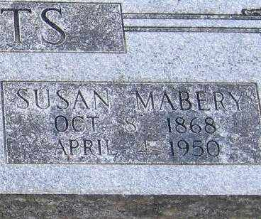 CLEMENTS, SUSAN MABERRY (CLOSE UP VIEW) - Lawrence County, Arkansas   SUSAN MABERRY (CLOSE UP VIEW) CLEMENTS - Arkansas Gravestone Photos