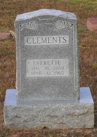 CLEMENTS, EVERETTE - Lawrence County, Arkansas | EVERETTE CLEMENTS - Arkansas Gravestone Photos
