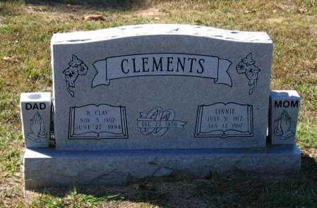 CLEMENTS, LENNIE - Lawrence County, Arkansas | LENNIE CLEMENTS - Arkansas Gravestone Photos