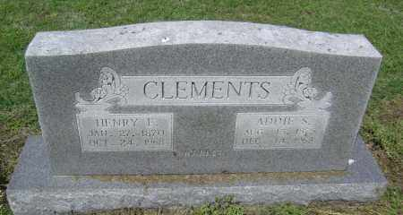 "KERR CLEMENTS, SARAH ADELAIDE ""ADDIE"" - Lawrence County, Arkansas 