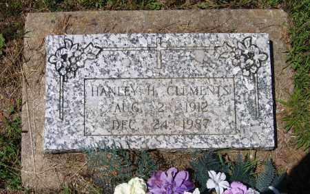 CLEMENTS, HANLEY HOSIE - Lawrence County, Arkansas | HANLEY HOSIE CLEMENTS - Arkansas Gravestone Photos