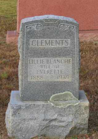 CLEMENTS, LILLIE BLANCHE - Lawrence County, Arkansas   LILLIE BLANCHE CLEMENTS - Arkansas Gravestone Photos