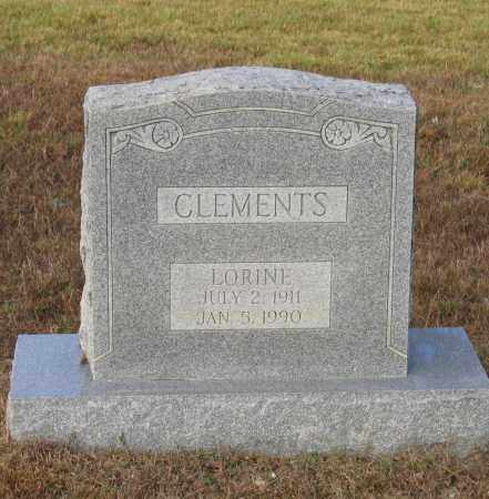 CLEMENTS, LORINE - Lawrence County, Arkansas | LORINE CLEMENTS - Arkansas Gravestone Photos